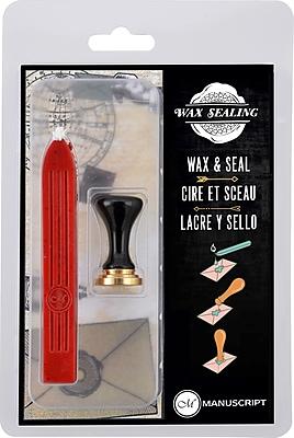 Manuscript Pen Q Ceramic Seal W/Red Wax (MSH735Q)