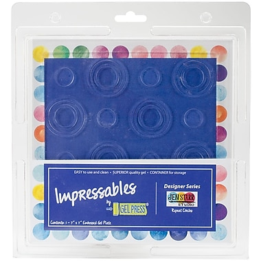 Gel Press Repeat Circles Gel Press Impressables 7