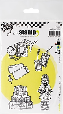 Carabelle Studio Zinouk At The End Of The World Cling Stamp A6 (SA60304)