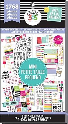 Me & My Big Ideas Mini Planner Basics Create 365 Happy Planner Sticker Value Pack (PPSV-42)