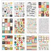 Simple Stories Carpe Diem Recipe A5 Stickers, 12/Pkg (CDR8911)