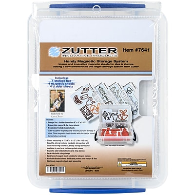 Zutter Handy Magnetic Die & Stamp Storage Case, 9.5