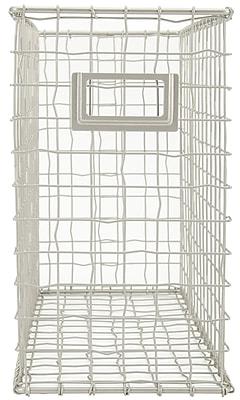 Advantus Tim Holtz Storage Studios Wired File Basket, 13.5