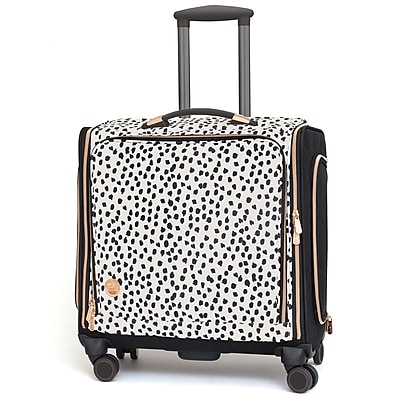We R Memory Keepers 360 Crafter's Rolling Bag-Rose Gold Dalmatian (663080) 24199928