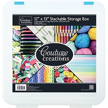 Artdeco Creations Couture Creations Stackable Storage Box, 12