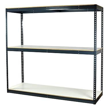 Storage Concepts Bulk Boltless Shelving, 3 Shelves, 72