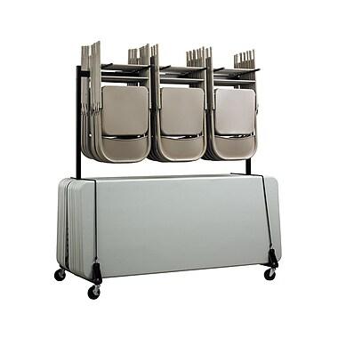 Adiroffice Chair & Table Combo Cart (690-01)