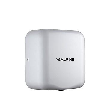 Alpine Industries Hemlock 400-20-WHI Automatic Hand Dryer, White