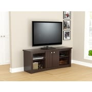 Inval America TV Stand in Espresso-Wengue (MTV-13819)