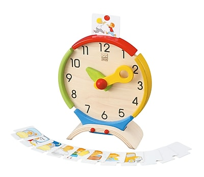 PlanToys® Activity Clock, 8