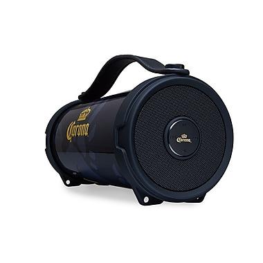 Corona 00703 Indoor Outdoor Bluetooth Speaker with Microphone Black/Gold (00703)