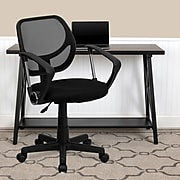 Flash Furniture Mesh Computer and Desk Chair, Black (WA-3074-BK-A-GG)