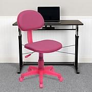 "Flash Furniture 31"" - 35 3/4"" Fabric Ergonomic Task Chairs (BT698PINK)"