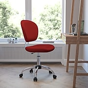 Flash Furniture Mesh Task Chairs With Chrome Base (H2376FRED)