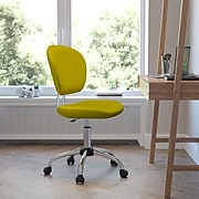 Flash Furniture Mesh Task Chairs With Chrome Base (H2376FYEL)