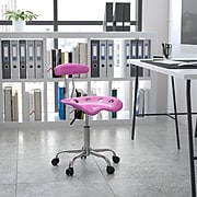 Flash Furniture Polymer Vibrant Computer Task Chairs With Tractor Seat (LF214CNDYHRT)