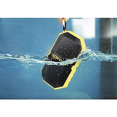 M 72428 Survivor Waterproof IP67 Stereo Bluetooth Speaker Yellow (72428)