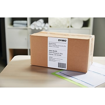 """Dymo LabelWriter Extra Large Shipping 1744907 Label Printer Labels, 4""""W, Black On White, 220/Roll"""