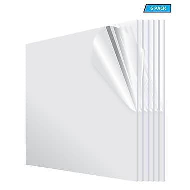 Adiroffice Acrylic Clear Water Resistant & Weatherproof Plexiglass Sheet 24