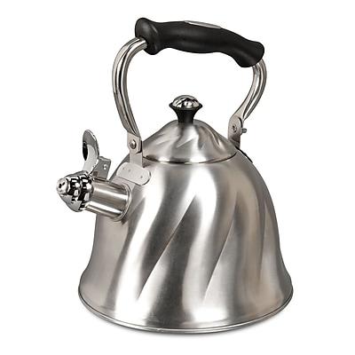 Mr. Coffee Alberton 2.3 Qt. Tea Kettle, Stainless Steel