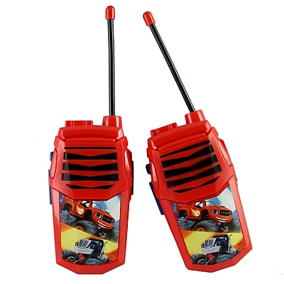 Blaze and the Monser Walkie Talkie with Built-in Flashlight Kids (WT3-01068)