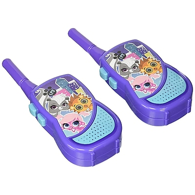 Littlest Pet Shop Walkie Talkie with Built-in Flashlight Kids (WT3-01081)