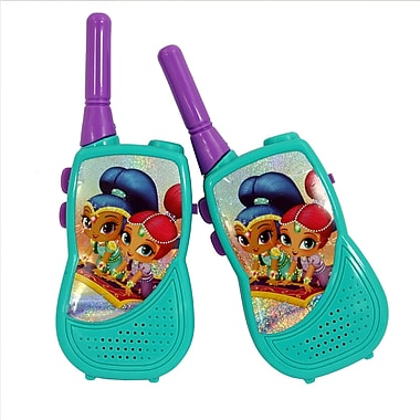 Shimmer and Shine Walkie Talkie with Built-in Flashlight Kids (WT3-01369)