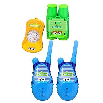 Sesame Street Walkie Talkie Adventure Kit (BK1-05080)