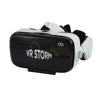 AOB A23-81-2 3D Virtual Reality Headset for Android and IOS Devices, Black