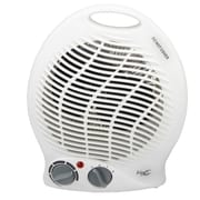 Vie Air 1500W Portable 2 Setting Fan Heater White (VA-301B)