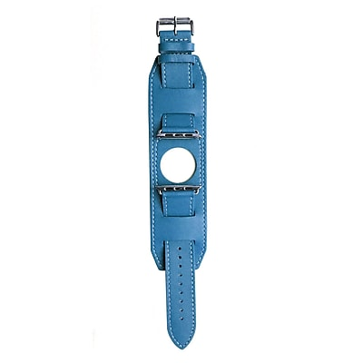 MGear Leather Band for 38MM Apple Watch in Blue (93599785M)