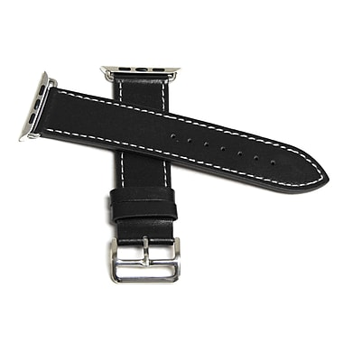 MGear Leather Strap for Apple Watch 38MM in Black (93599798M)