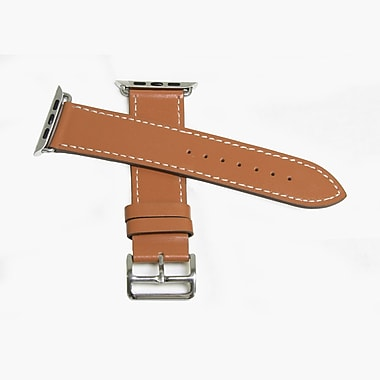 MGear Leather Strap for Apple Watch 42MM in Brown (93599791M)