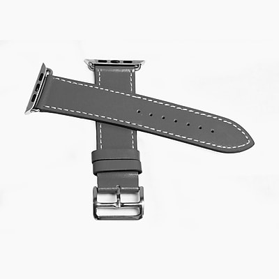MGear Leather Strap for Apple Watch 38MM in Gray (93599796M)
