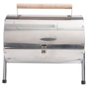 Gibson Home Wilklerson Stainless Steel Double Barrel BBQ Grill,(111942.01)