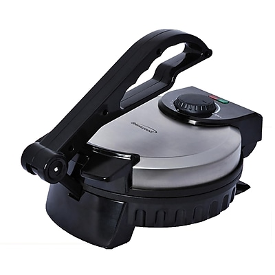 Brentwood Electric 8 Inch Tortilla Maker (TS-127)