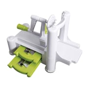 Oster's Kitchen Artistry 4 Piece Spiralizer and Grating Tool, Lime Green (116425.04)