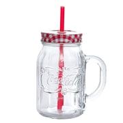 Cocacola Coca-Cola Country Classic 20 oz Mason Jar W/Lid & Straw (107296.01)