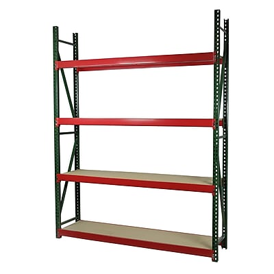 Storage Concepts Single Box Deep Archive Shelving, 4 Shelves, 96