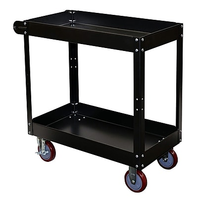Storage Concepts Service Cart, 2 Shelves, 32