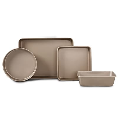 Oster Gale 4-Piece Bakeware Set in Gold (108124.04)