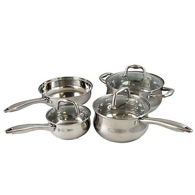 Sunbeam Branson 7-Piece Silver Finish Cookware Set (935100943M)