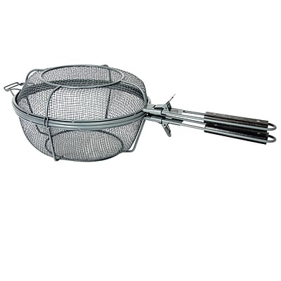 Gibson Home Romford Non Stick Surface Grill Basket, Grey (112046.01)