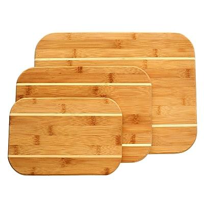 Gibson Home Dewport 3 pc Bamboo Cutting Board Set (107265.03)