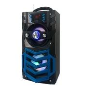 Quantum Fx Quantum FX Portable Bluetooth Rechargeable Speaker with FM Radio - Blue (93599734M)
