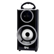 Quantum Fx QFX Bluetooth Multimedia Boom Box with RM Radio- Silver (93595700M)