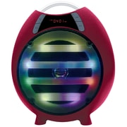 "Qfx QFX 6.5"" Bluetooth Rechargeable Party Speaker, Red (935102223M)"