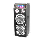 Pyle 1000 Watt Disco Jam Powered Two-Way Bluetooth Speaker System w/ USB/SD Readers, FM Radio, 3.5mm AUX Input (93584482M)