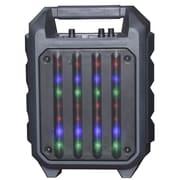Quantum Fx QFX Portable Rugged Bluetooth Speaker Disco Lights (935101712M)