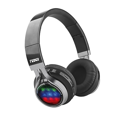Naxa NE-957 VIBE Bluetooth Foldable Headphones with Microphone & FM Radio (935102723M)